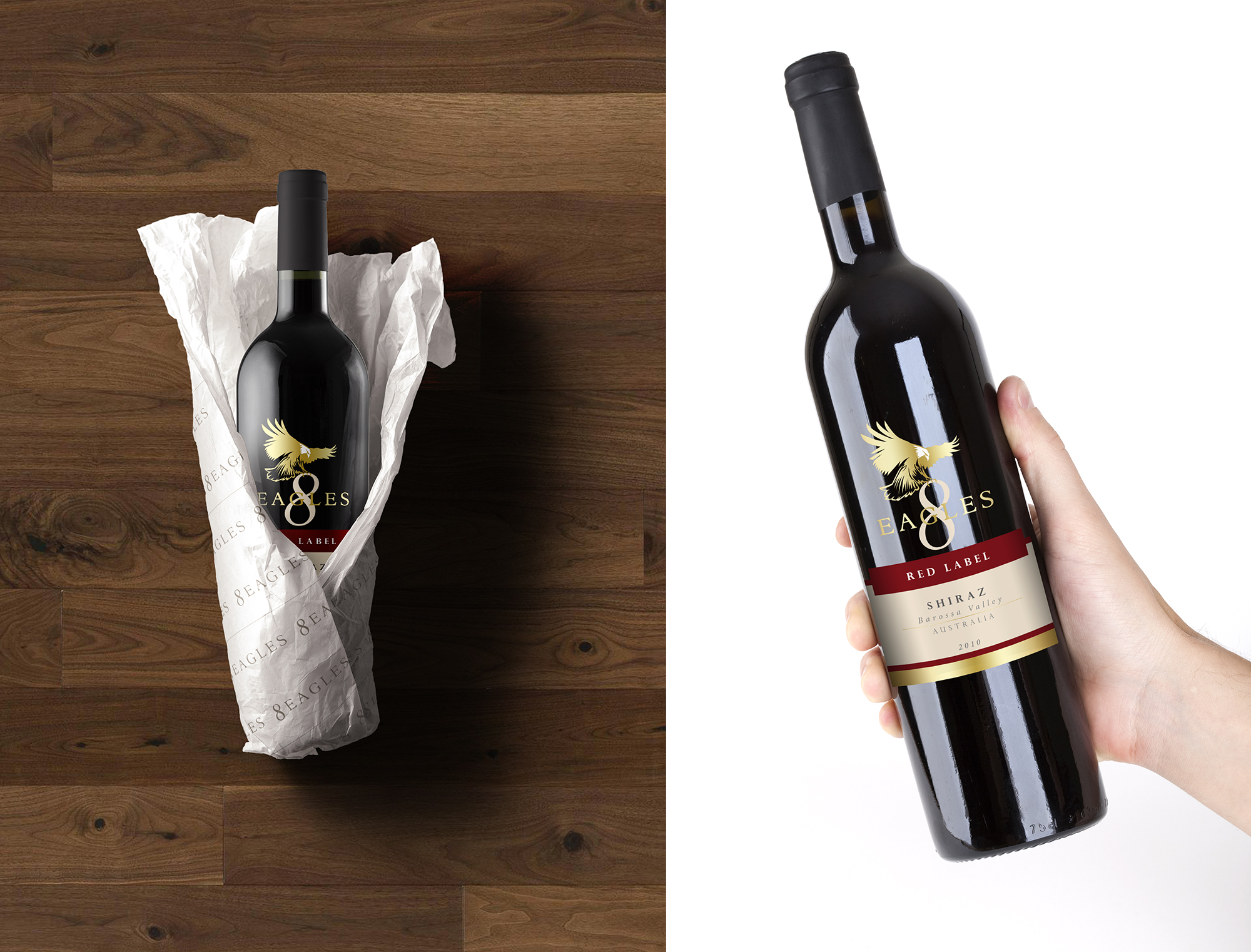 About This Project 8 Eagles Wines Comes From